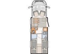 DETHLEFFS Just T 7052 EB · Low Profile Motorhome