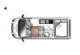 WESTFALIA Columbus 540 modelo 2022 · Camper Van