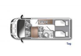 WESTFALIA Amundsen 600 E modelo 2022 · Camper Van